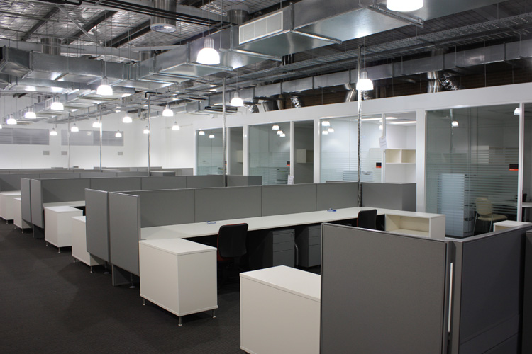 Office Interior For Big Space