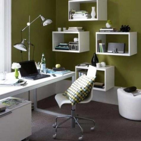 Small Home Office Interior Decor